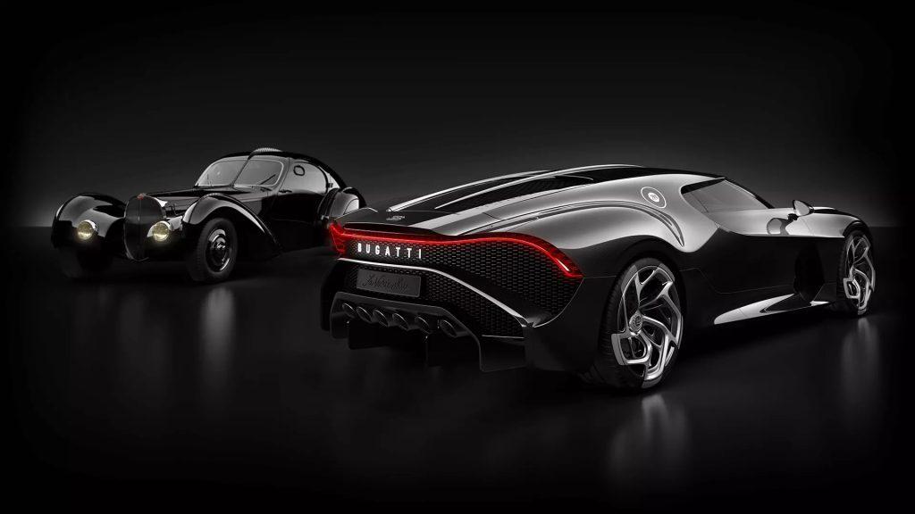Bugatti La Voiture Noire and Type 57SC Atlantic