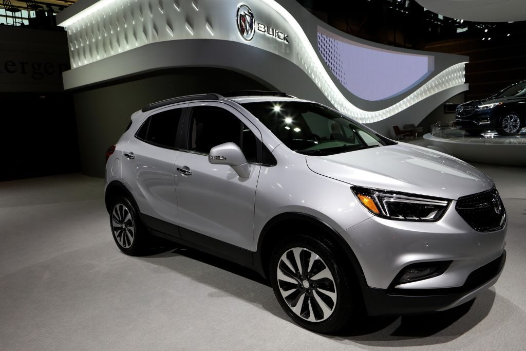 2018 Buick Encore is on display at the 110th Annual Chicago Auto Show