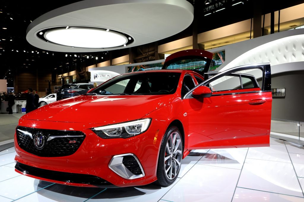 2018 Buick Regal is on display at the 110th Annual Chicago Auto Show
