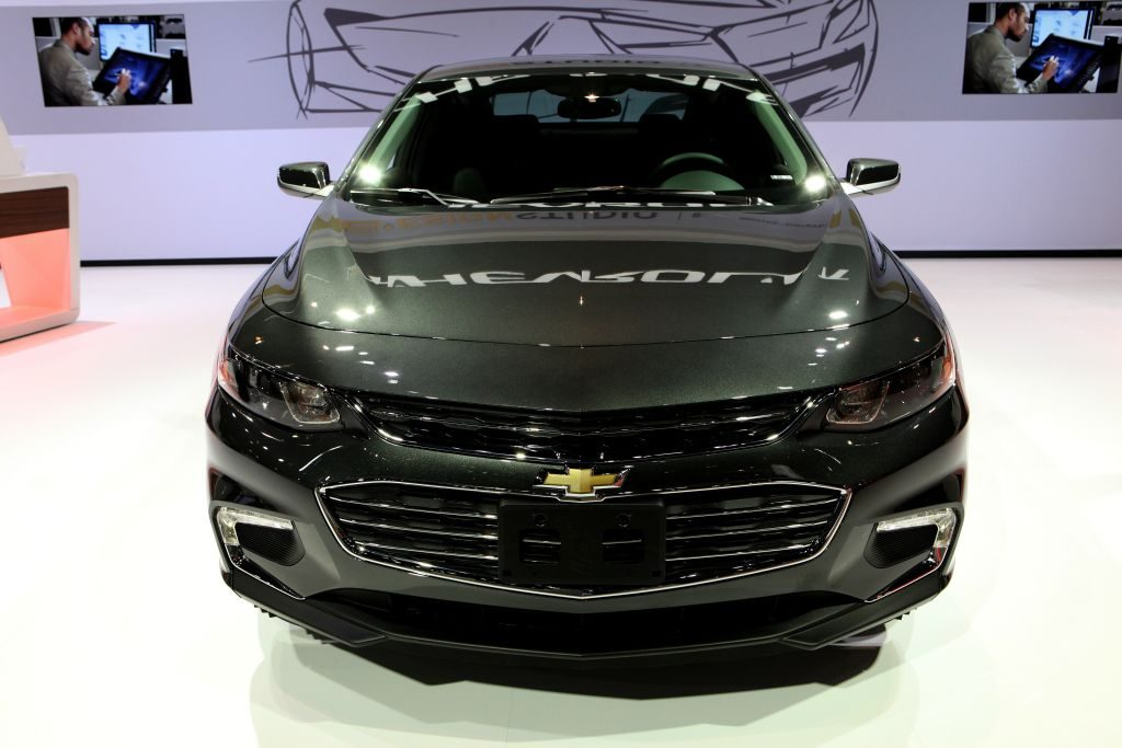 2017 Chevrolet Malibu LT is on display at the 109th Annual Chicago Auto Show