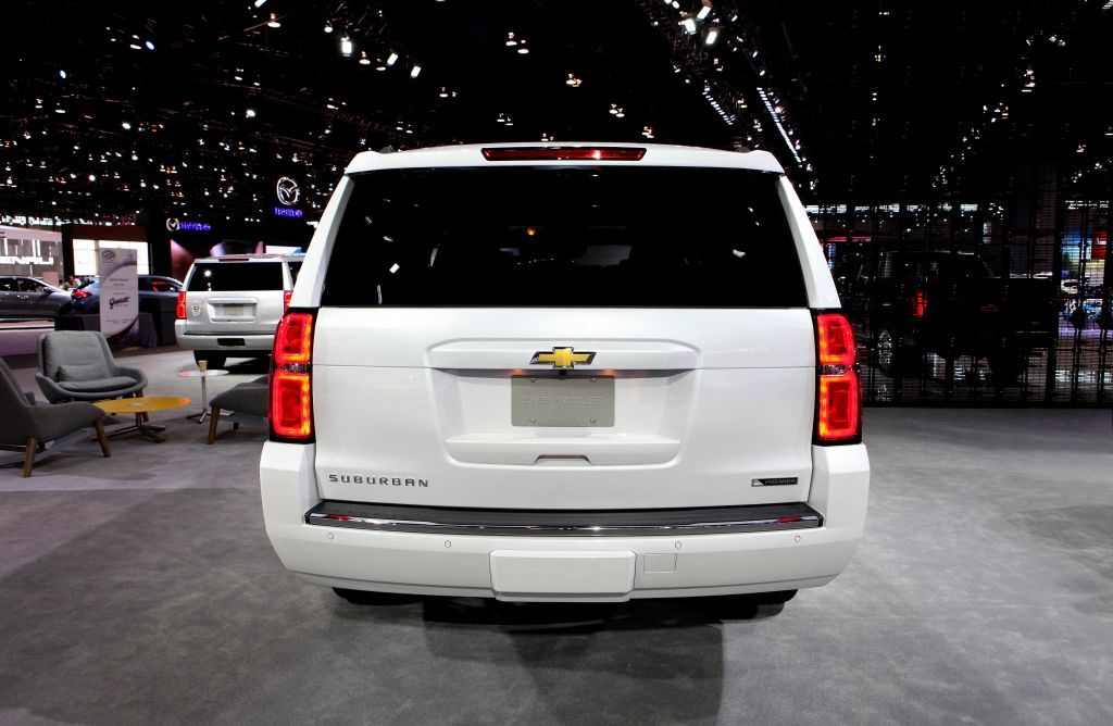 2017 Chevrolet Suburban is on display at the 109th Annual Chicago Auto Show