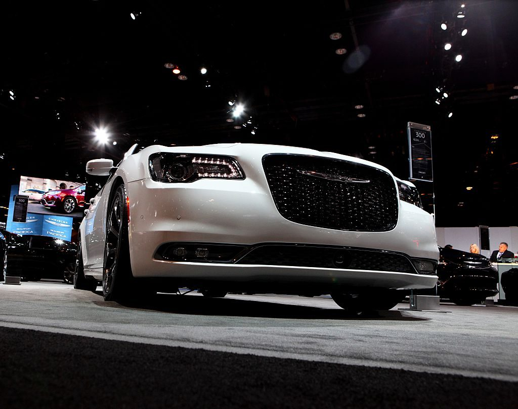 2016 Chrysler 300 is on display at the 108th Annual Chicago Auto Show