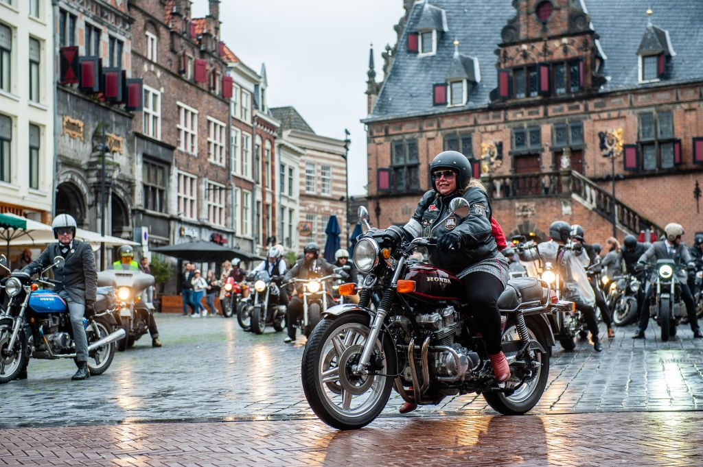 Classic motorcycles in the Netherlands