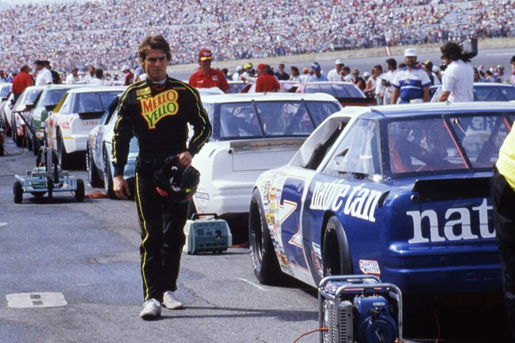 A scene from the 1990 movie Days of Thunder.