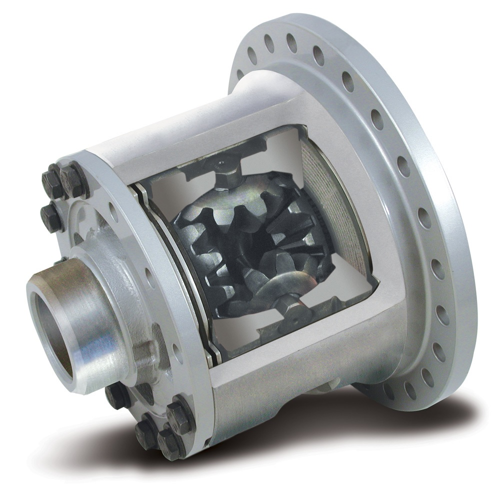 Eaton Suretrac limited-slip differential cutaway
