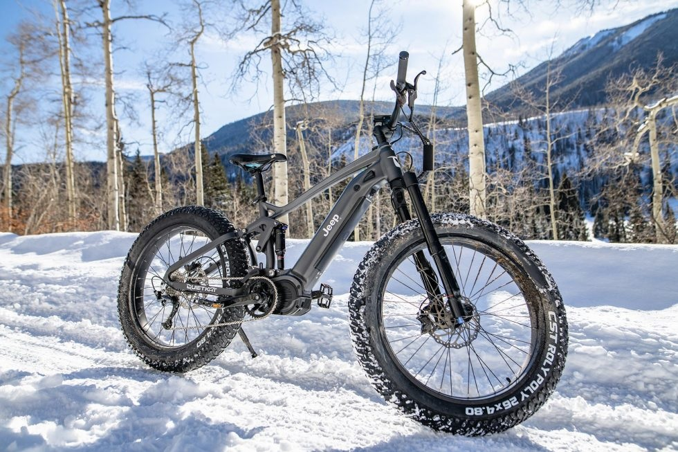 Electric Jeep mountain bike