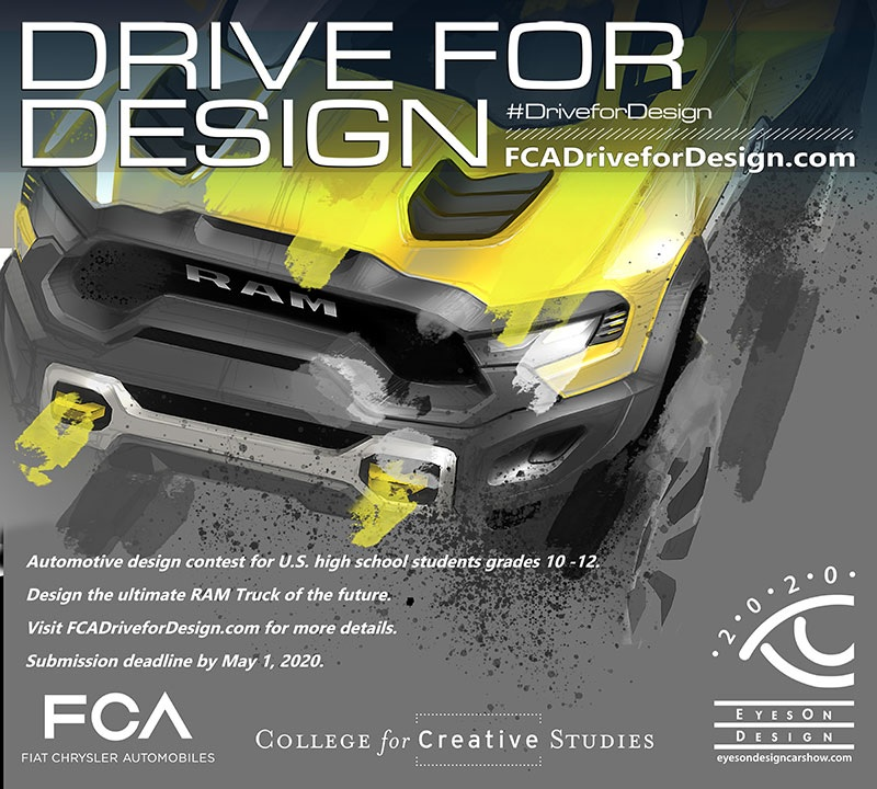FCA Drive for Design poster