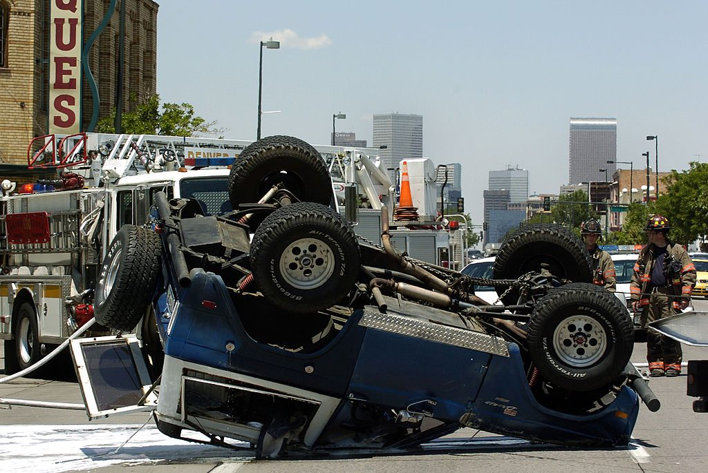 Ford Bronco Roll Over