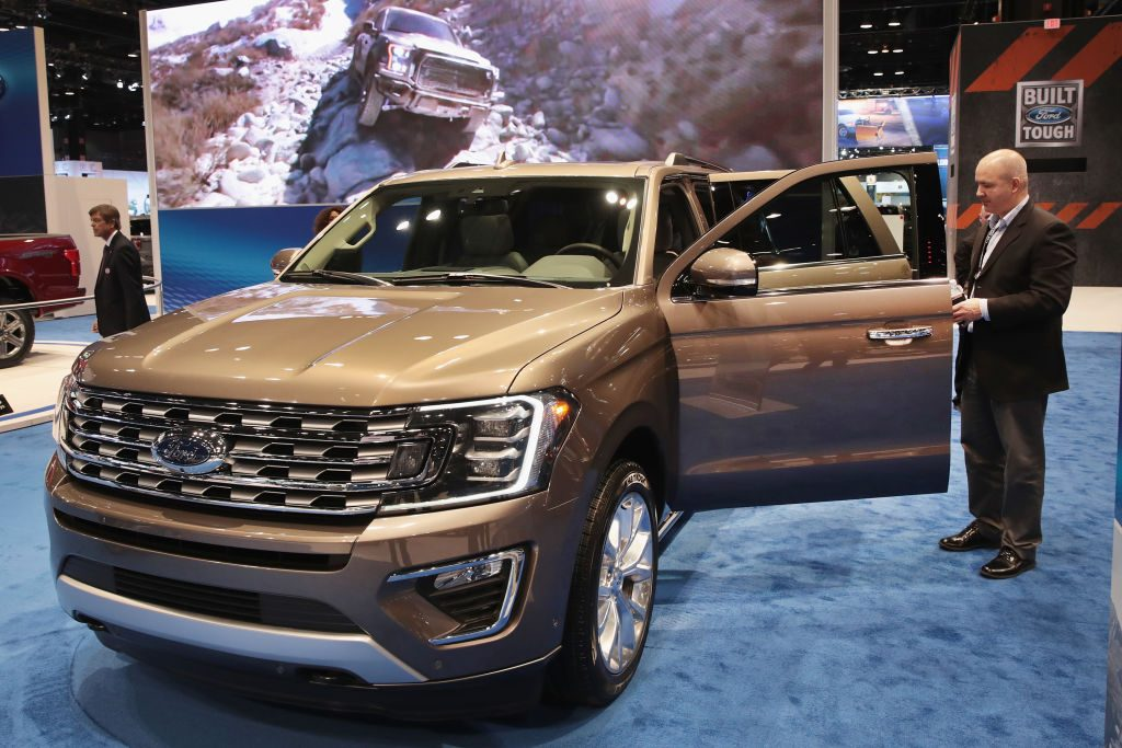 Ford introduces the 2018 Expedition at the Chicago Auto Show
