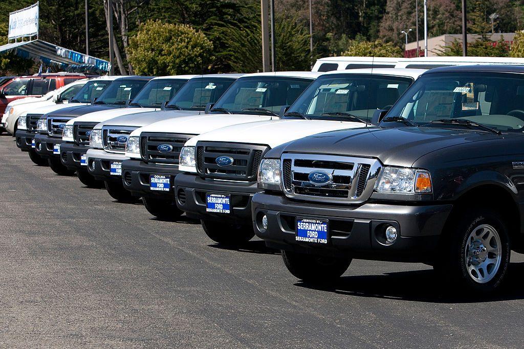 Ford Ranger Truck Fleet