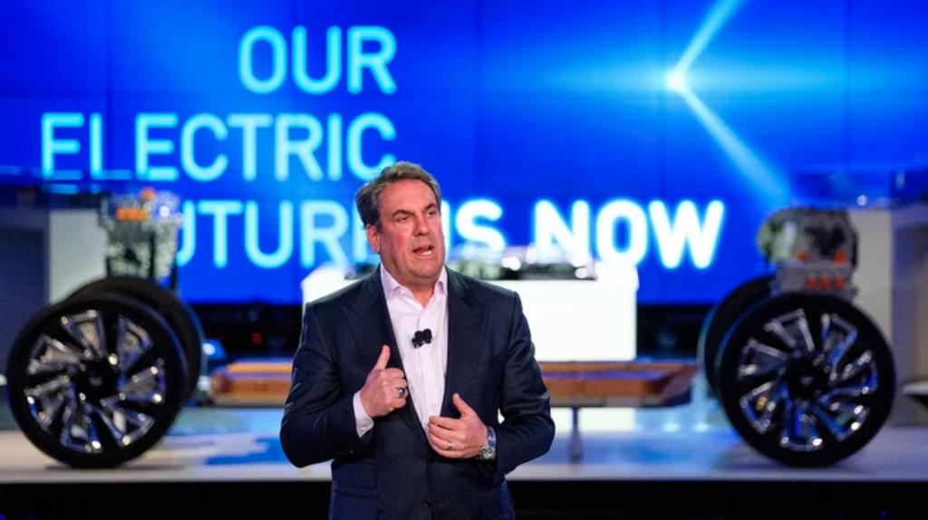GM President Mark Reuss discusses the modular Ultium EV system. | GM