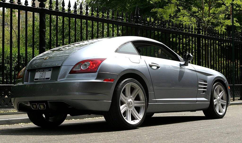 Chrysler Crossfire during The 2003 Chrysler Million Dollar Film Festival Filmmaking Competition - Day One at Manhattan in New York City, New York, United States. (Photo by James Devaney/WireImage)