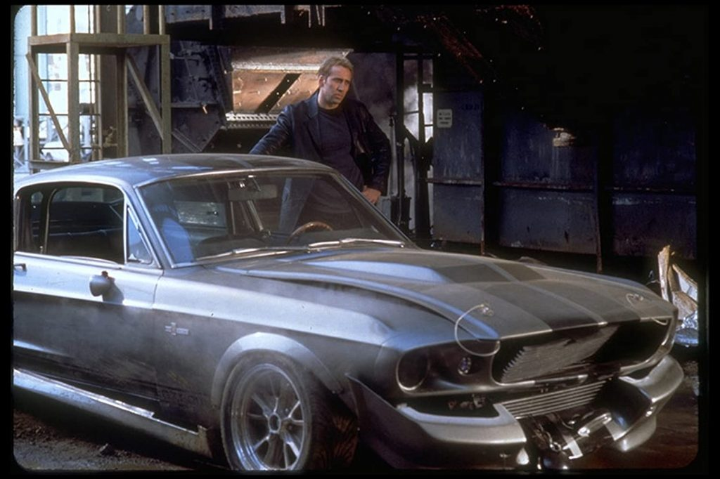 A scene from the 2000 movie Gone in 60 Seconds.