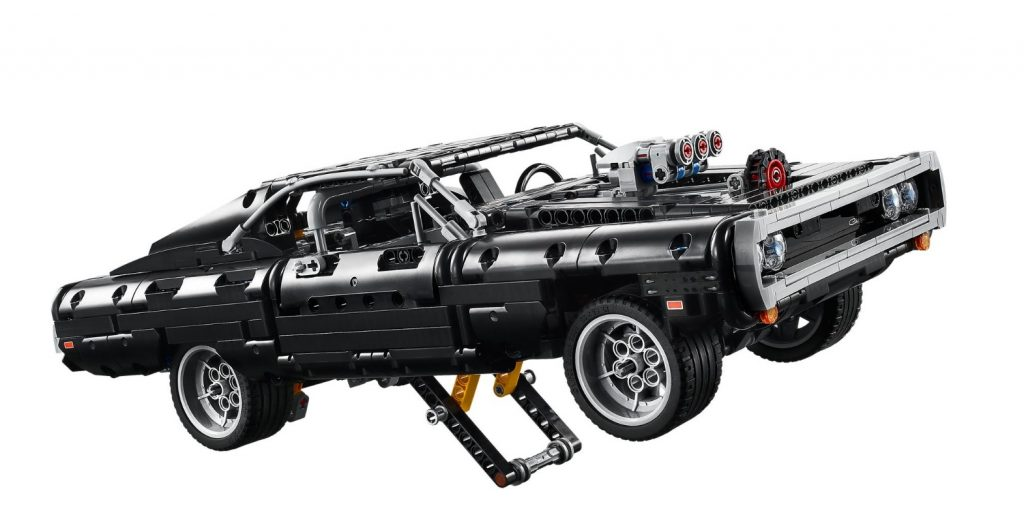 Lego Dom's 1970 Dodge Charger wheelie bar