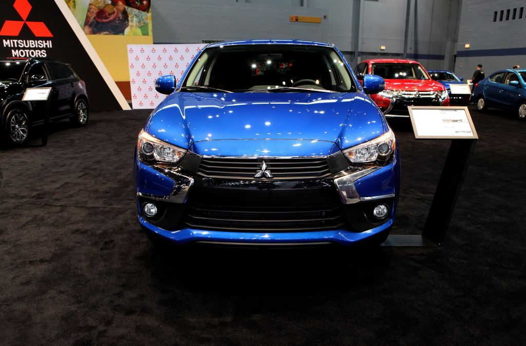 2017 Mitsubishi Outlander Sport is on display at the 109th Annual Chicago Auto Show