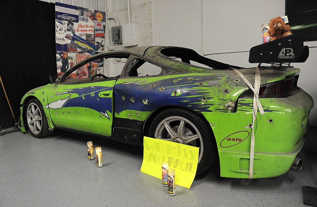Mitsubishi Eclipse used in The Fast and the Furious