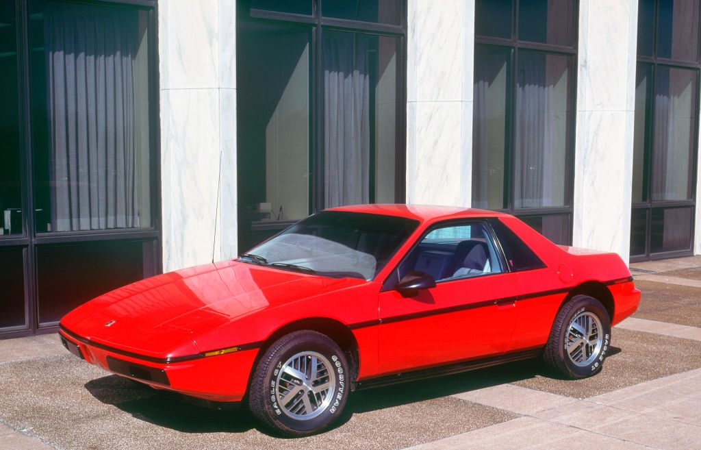 Red 1983 Pontiac Fiero