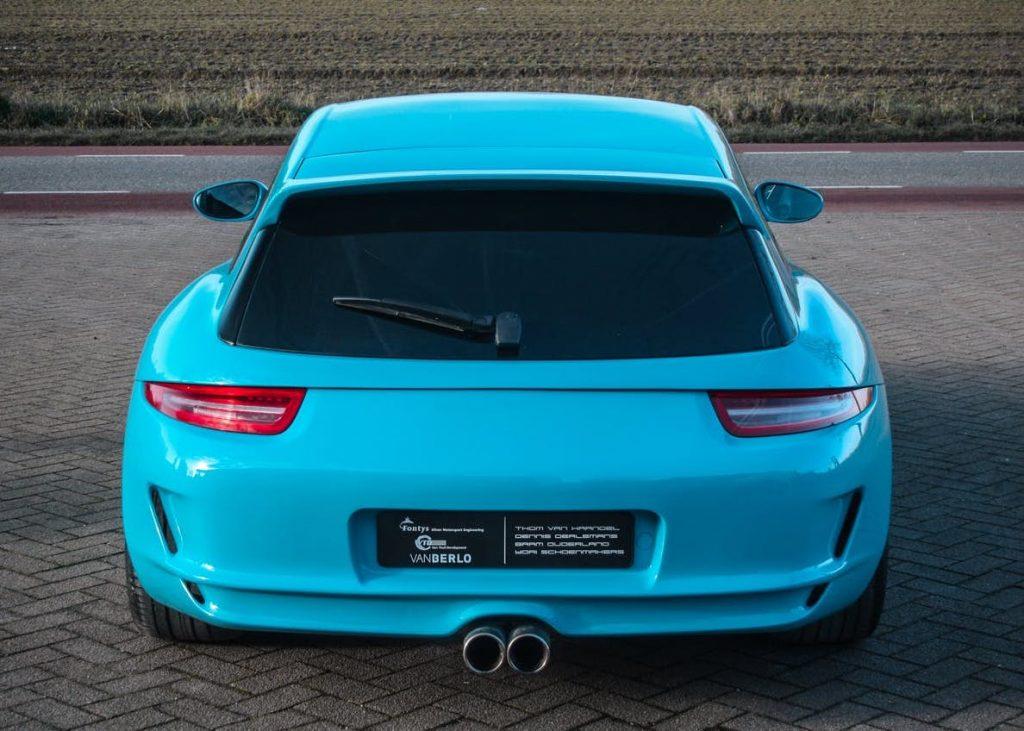 Porsche Boxster Shooting Brake wagon project | Van Thull-1
