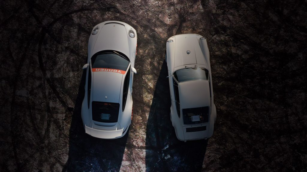 Vonnen 991 and classic Porsche 911