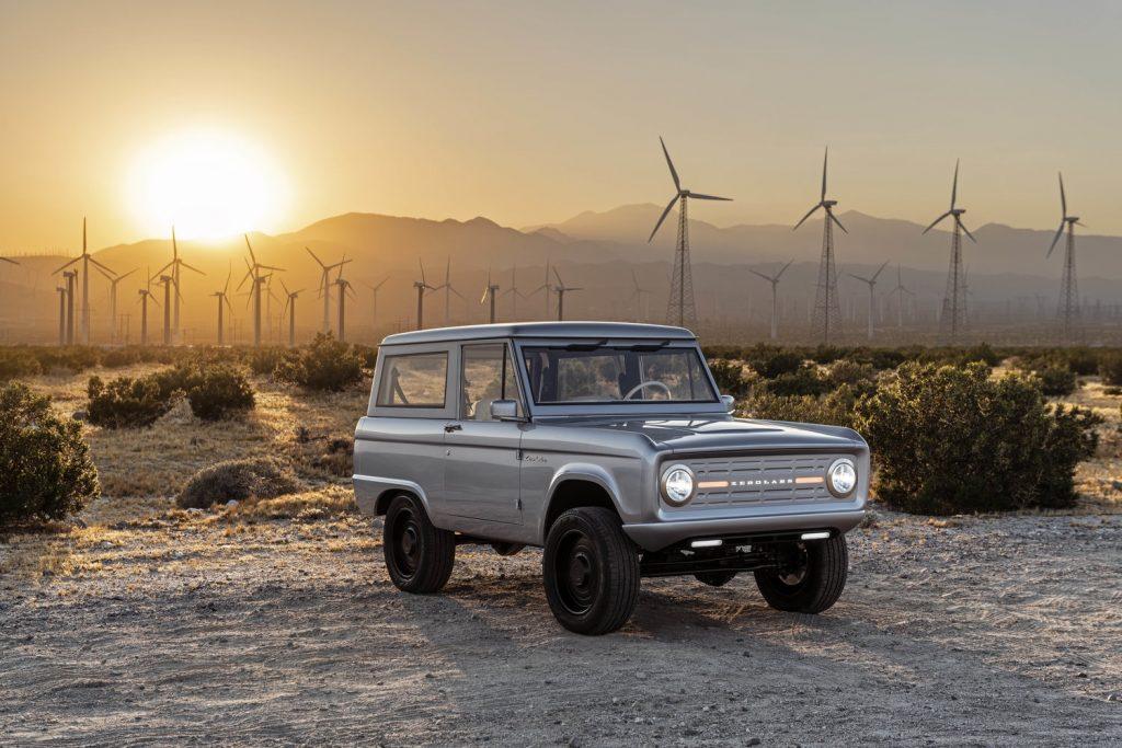 Zero Labs Classic Ford Bronco EV 1.0