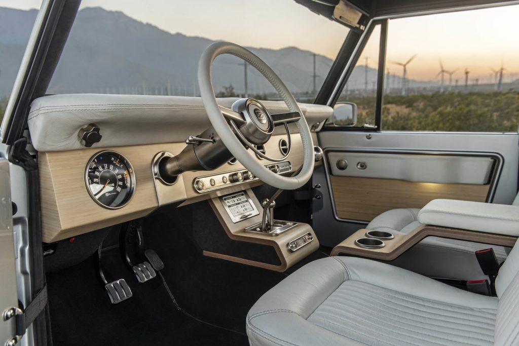 Zero Labs Classic Ford Bronco EV 1.0 interior