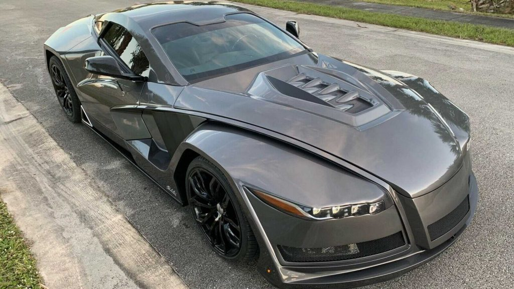 "Custom ""Slash"" Corvette 