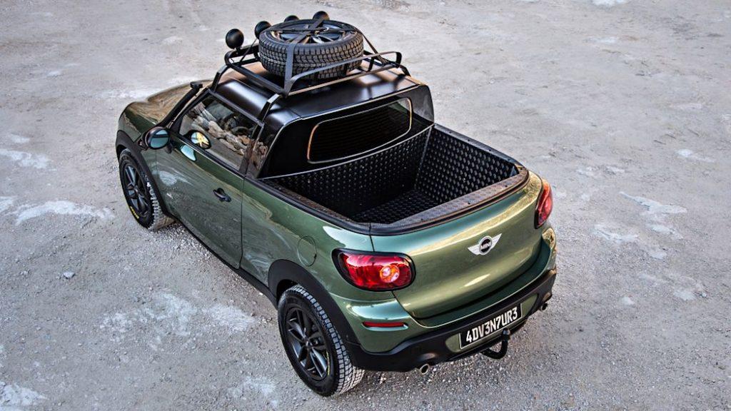 Mini pickup truck - Mini Paceman Adventure Concept