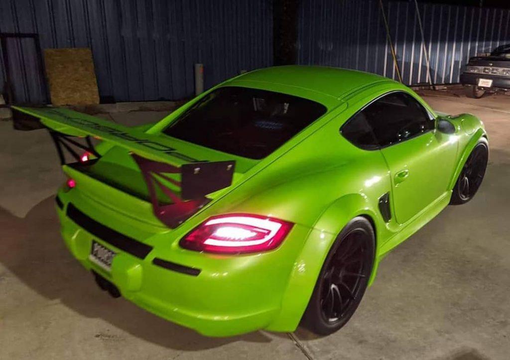 1210 hp LS powered Porsche Cayman track car | Musser-