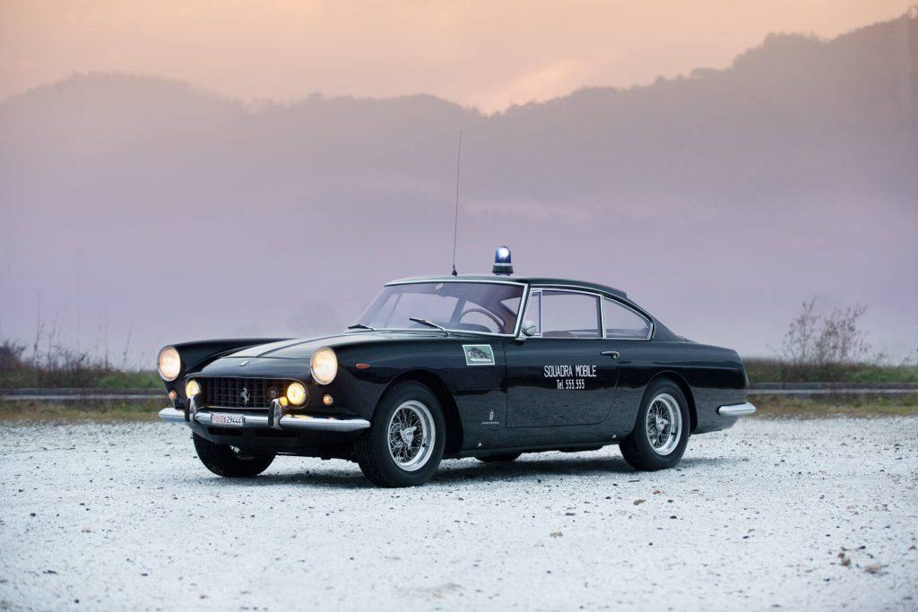 1962 Ferrari 250 GTE police car