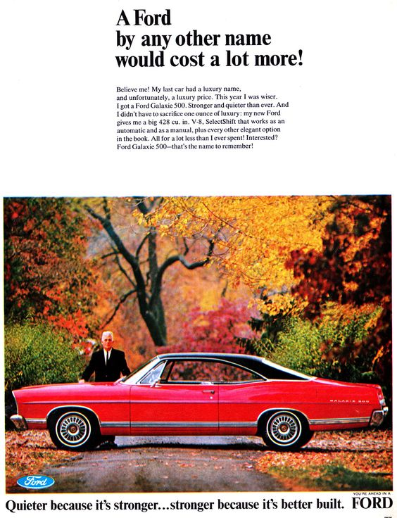 1967 Ford Sportsroof advertising | Ford