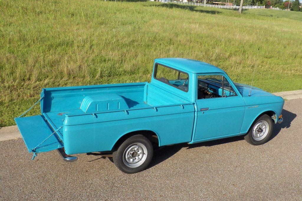 1968 Datsun 520 truck rear