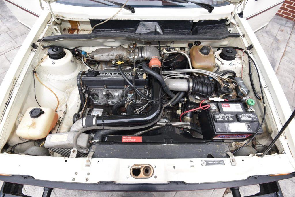 1983 Volkswagen GTI Callaway engine bay