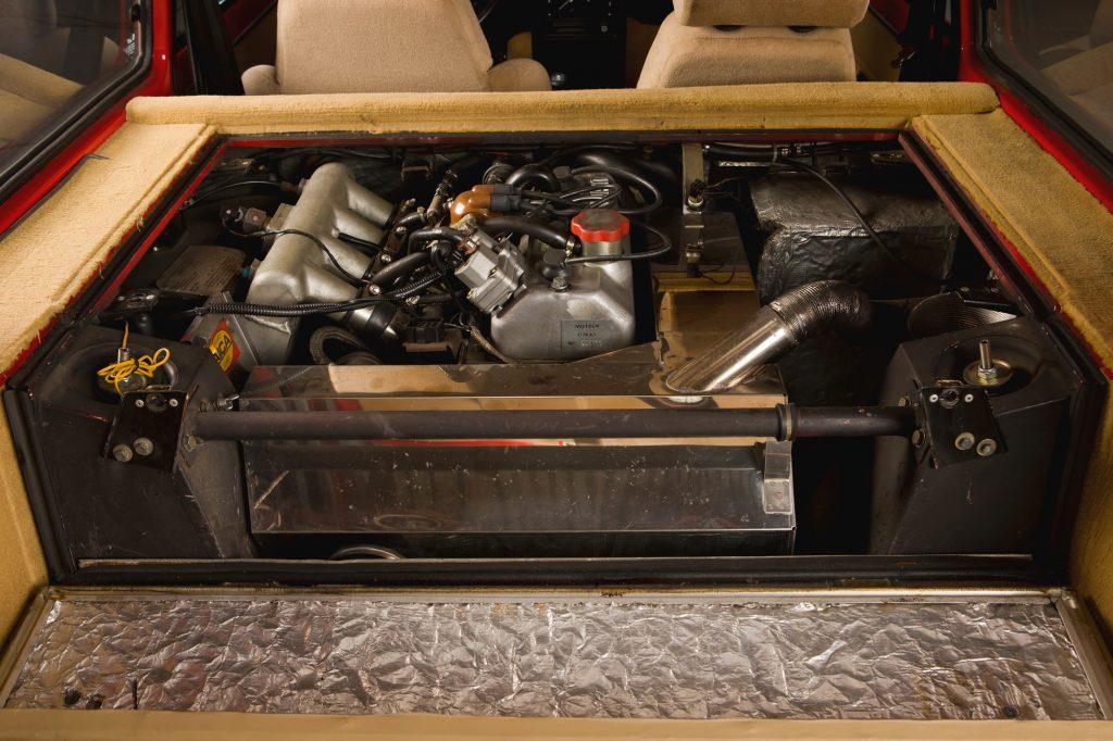 1985 Renault R5 Turbo 2 Type 8221 engine
