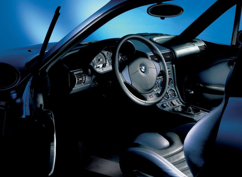 1999 BMW M Coupe interior