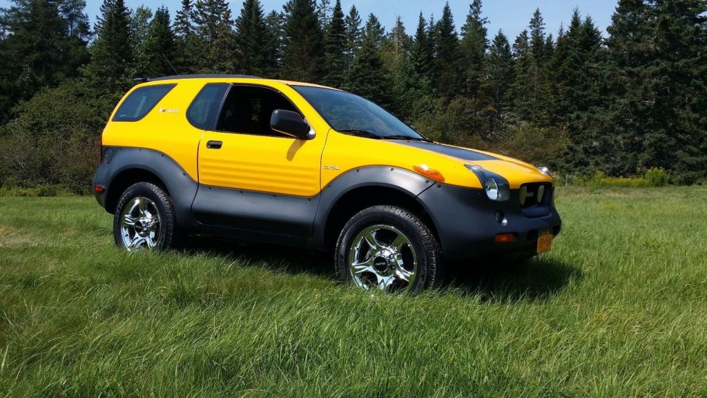 2001 Isuzu Vehicross side
