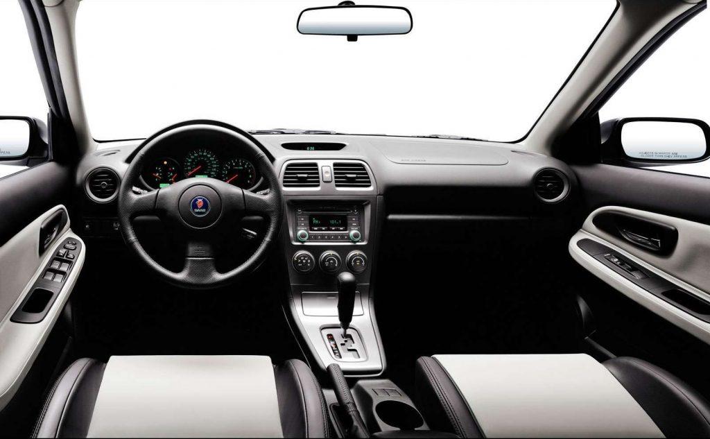 2005 Saab 9-2X interior