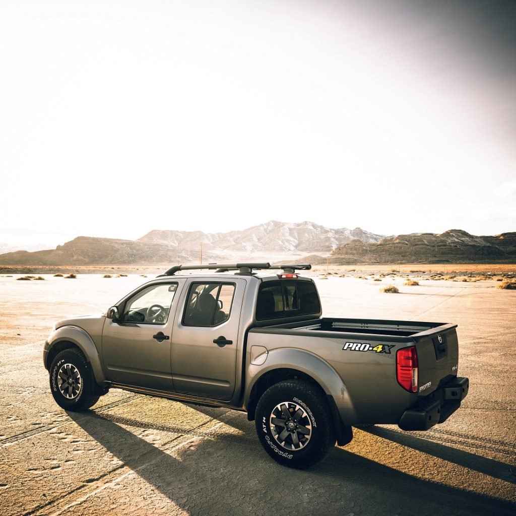 2020 Nissan Frontier PRO-4X compact pickup truck does compare with other off-road trucks