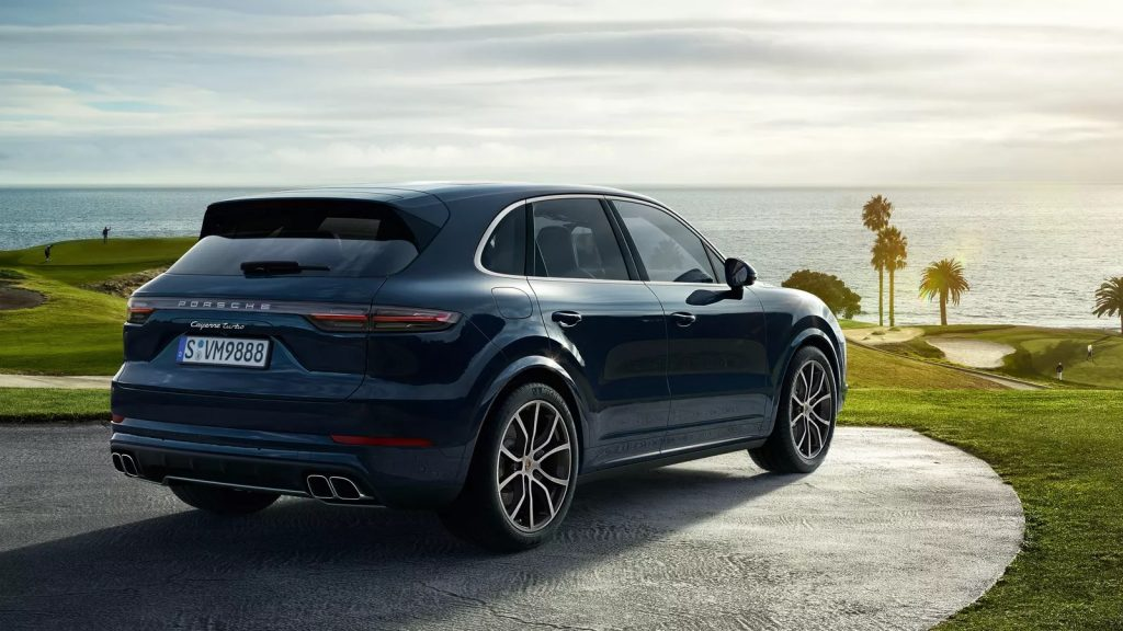 2020 Porsche Cayenne Turbo rear