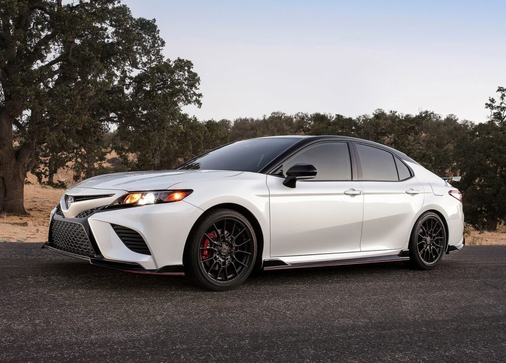 2020 Toyota Camry TRD side