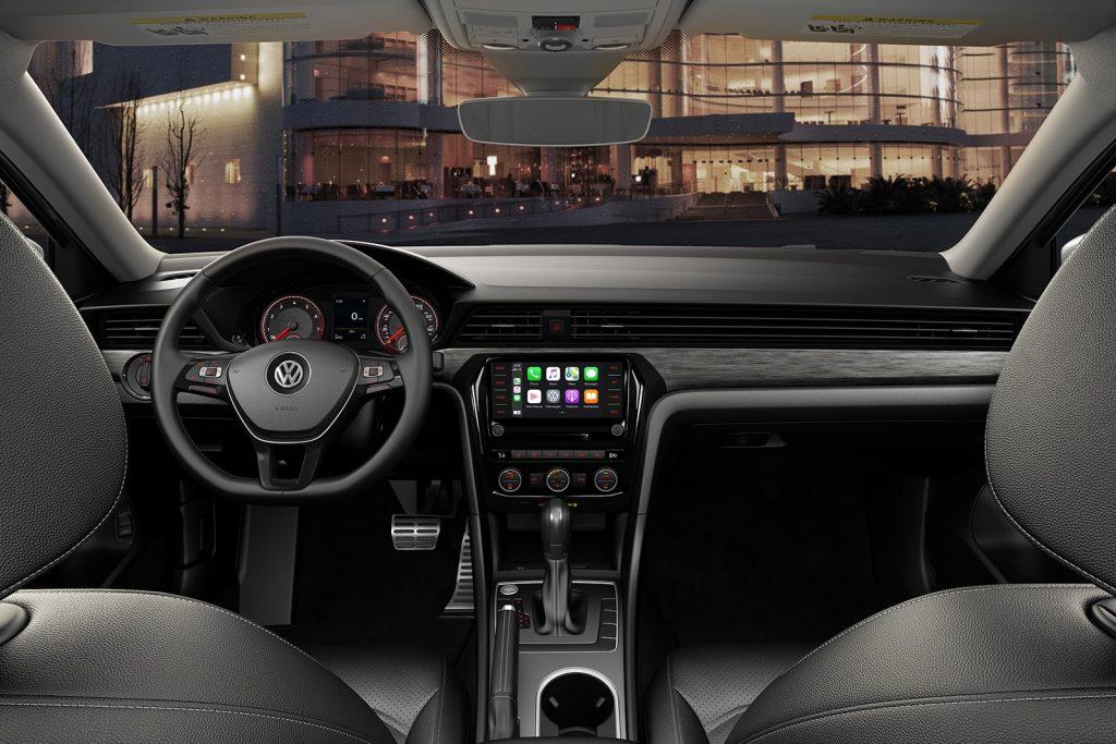 2020 VW Passat R-Line interior