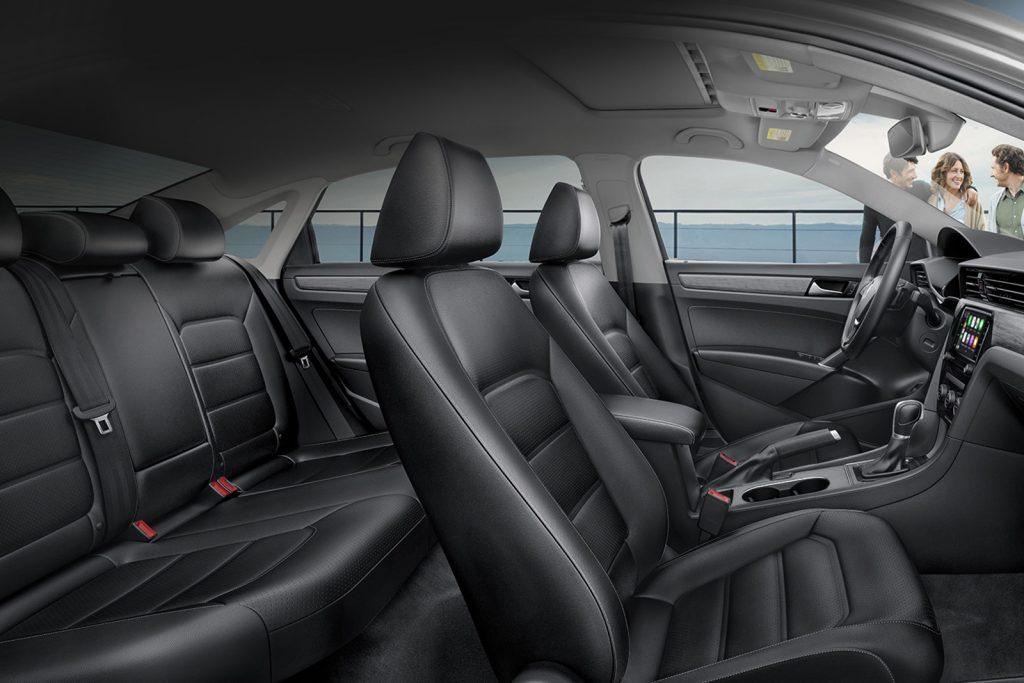 2020 VW Passat R-Line seats
