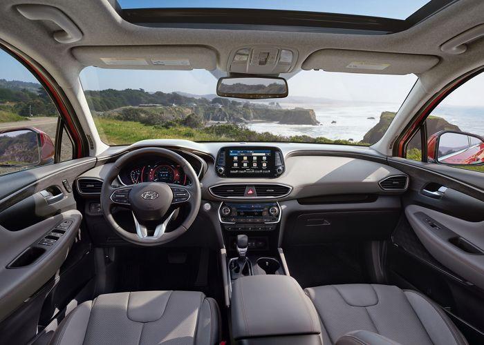 2020 Hyundai Sante Fe Interior