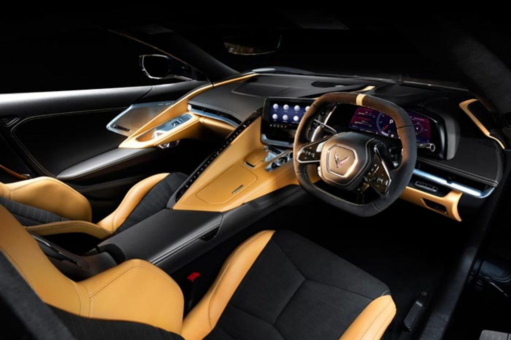 2021 Corvette right-hand-drive interior | GM
