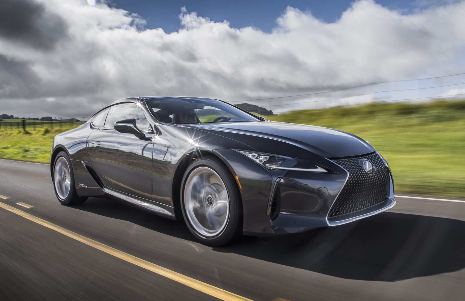 MUSCLE CAR COLLECTION : 2019 Lexus LC-F Starting Price of