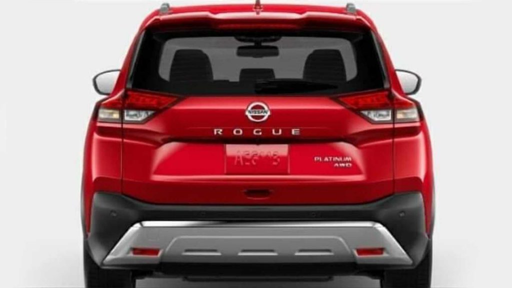 Leaked Photos Of The 2021 Nissan Rogue