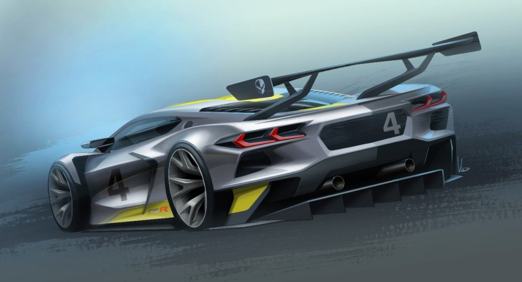 2022 Corvette C8.R | GM-.