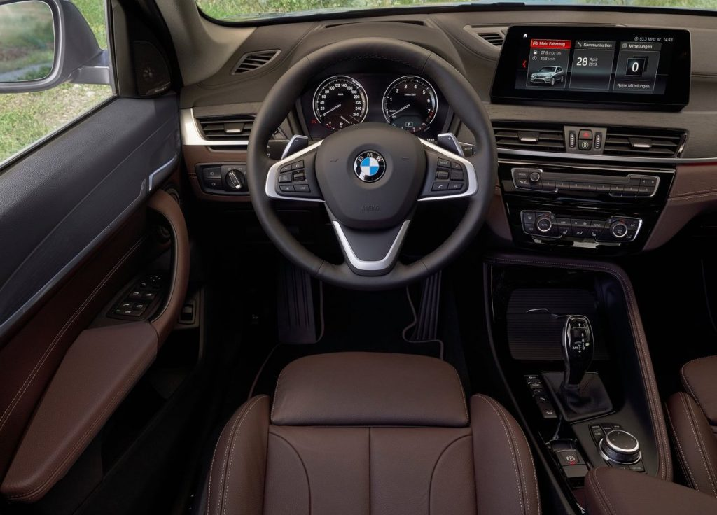 BMW's X1 provides a comfortable, upscale interior.