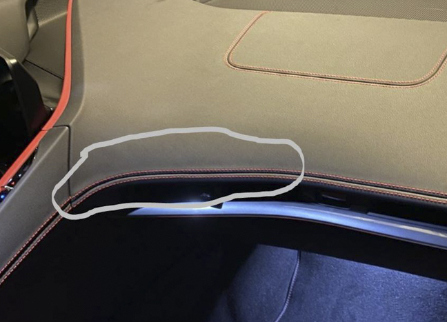 Bad 2020 Corvette C8 stitching | Corvette Forum-