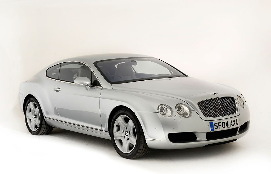 Silver 2004 Bentley Continental GT
