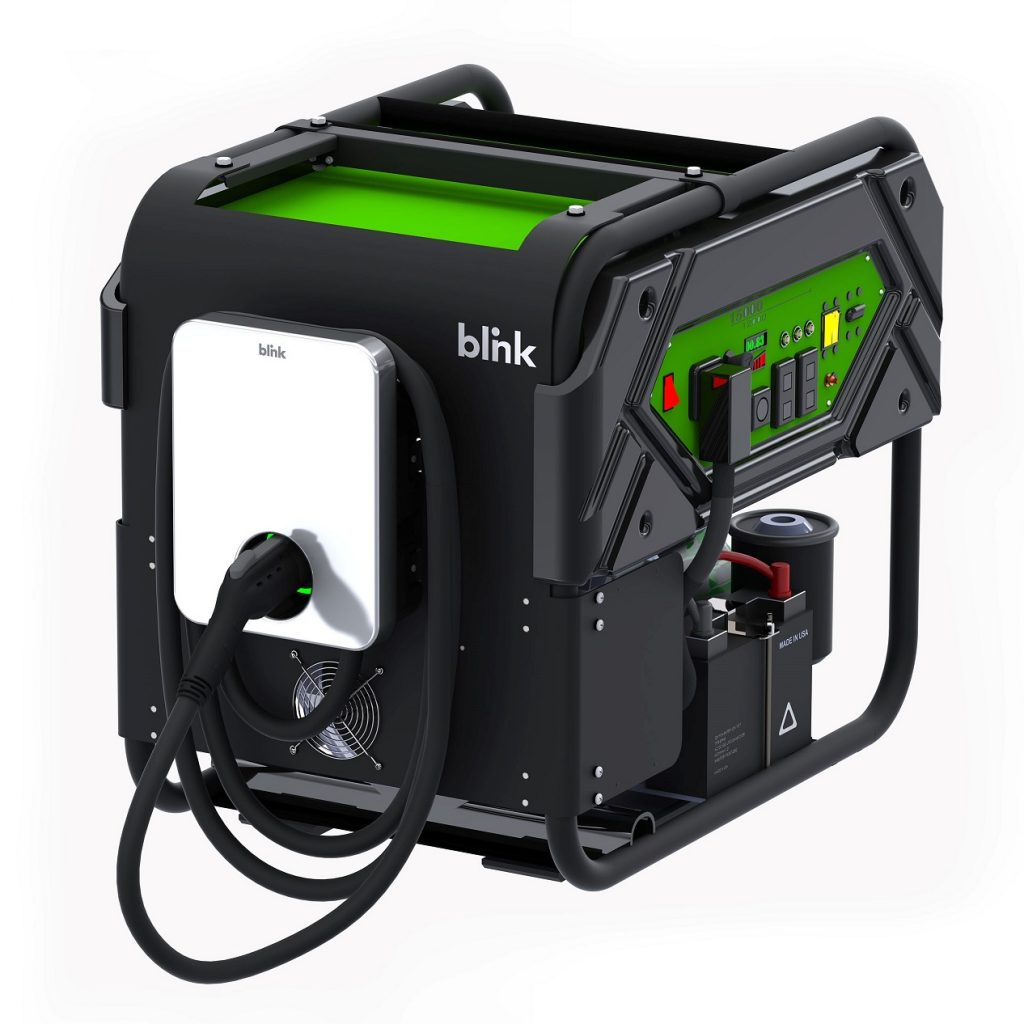 Blink portable EV charger
